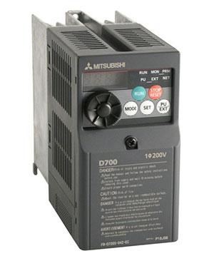 Biến tần D700 1 pha 200-240V FR-D720S