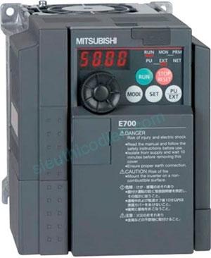 Biến tần E700 3 pha 200-240V FR-E720