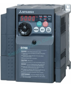 Biến tần D700 3 pha 200-240V FR-D720