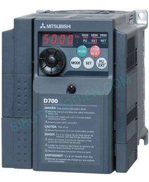Biến tần D700 3 pha 380-480V FR-D740