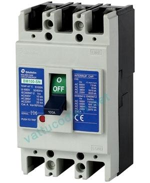 MCCB NF250-CV 3P (125-250)A 25KA