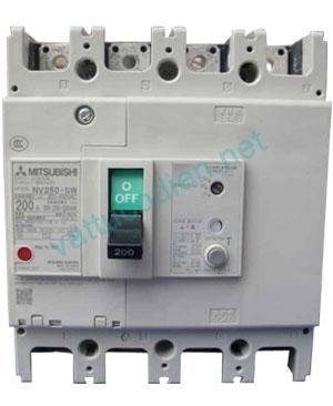 MCCB NF250-CV 2P (125-250)A 36KA
