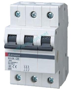 MCB 3P (10A-20A) 10kA